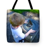 Through The Eyes Of A Child Tote Bag