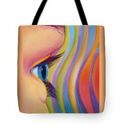 Through The Eyes Of A Child Tote Bag by Sandi Whetzel
