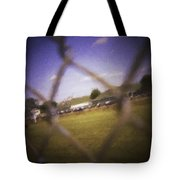 Through The Fence Neo Tote Bag