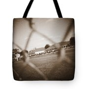 Through The Fence Never To Be  Tote Bag