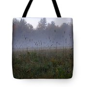 Through The Field Grass Tote Bag