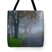 Through The Fog Tote Bag