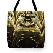Through The Glasses Tote Bag by Jean Noren
