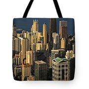 Through The Haze Chicago Shines Tote Bag