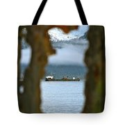 Through The Hole Tote Bag