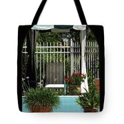 Through The Potico Tote Bag