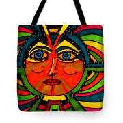 Through The Prism Of The Sun Tote Bag