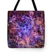 Through The Purple Rain Tote Bag