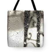 Through The Raindrops Tote Bag