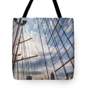 Through The Rigging Tote Bag