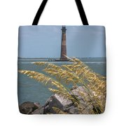 Through The Sea Grass Tote Bag
