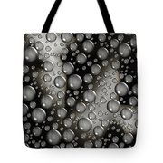 Through The Shower Door Tote Bag