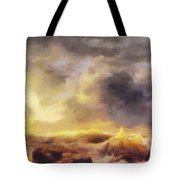 Through The Storm Tote Bag