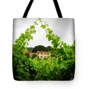 Through The Vines Tote Bag by Lainie Wrightson