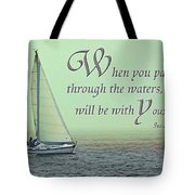 Through The Waters Tote Bag