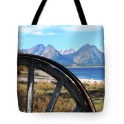Through The Wheel Tote Bag