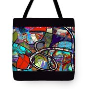 Through The Wormhole Tote Bag