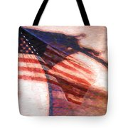 Through War And Peace Tote Bag