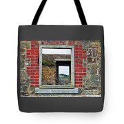 Through Windows At Charles Fort, Ireland Tote Bag