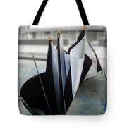 Throw Away Your Umbrellas The Rain Has Stopped Tote Bag
