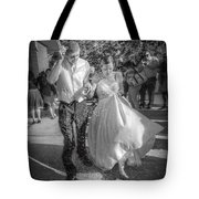 Throwing The Rice Tote Bag
