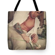 Thrown Out Tote Bag by Laurie Search