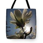 Thru The Flowers Tote Bag