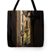 Thru The Narrow Alley Tote Bag