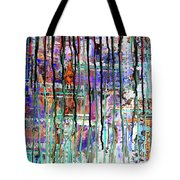 Thru The Storm 1 Digital Series Tote Bag