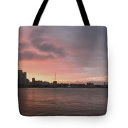 Ths City Sunset Tote Bag