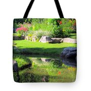 Thula Garden's Water Reflections Tote Bag