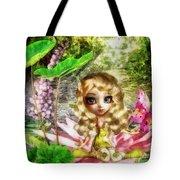 Thumbelina Tote Bag by Mo T