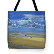 Thumpertown Beach Lowtide Tote Bag