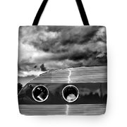 Thunder And Lightning Palm Springs Tote Bag