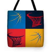 Thunder Ball And Hoop Tote Bag
