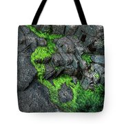 Thunder Hole Algae Tote Bag
