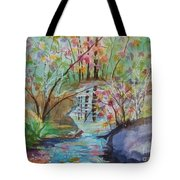 Thunder Mountain Mystery Tote Bag