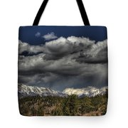 Thunder Mountains Tote Bag