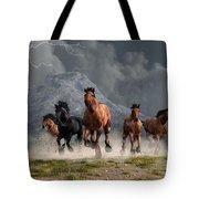 Thunder On The Plains Tote Bag