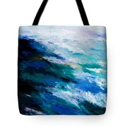 Thunder Tide Tote Bag by Larry Martin