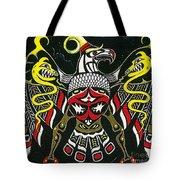 Thunderbird Tote Bag by Margaryta Yermolayeva