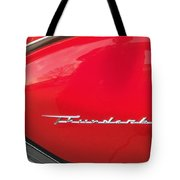 Thunderbird Roads Tote Bag