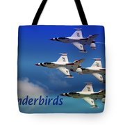 Thunderbirds Tote Bag