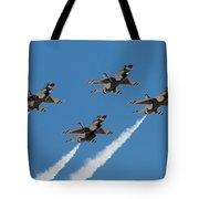 Thunderbirds Diamond Flyover Tote Bag