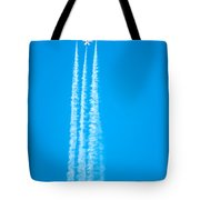 Thunderbirds In Air Formation  Tote Bag