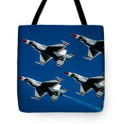 Thunderbirds Tote Bag by Larry Miller