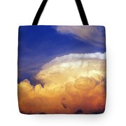 Thunderhead Tote Bag by Skip Nall