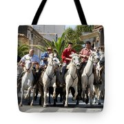 Thundering Hooves Tote Bag by William Beuther
