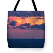 Thundering Sunset Tote Bag