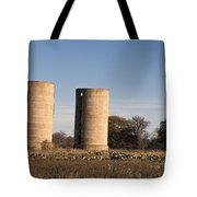 Thurber Dairy Silos Texas Tote Bag